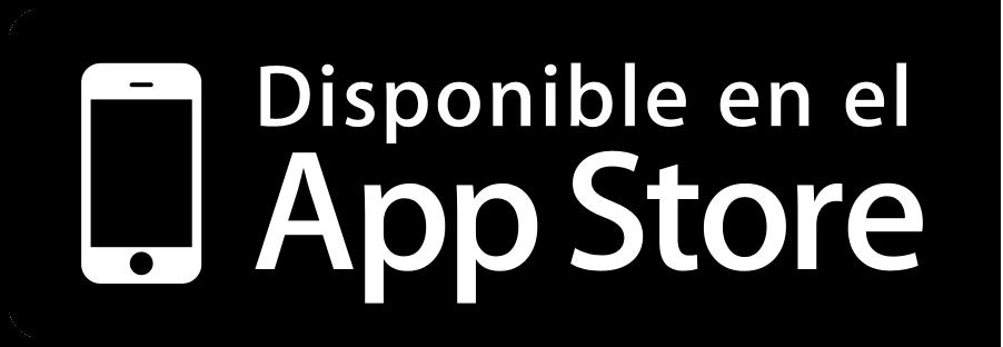 Botón App Store descargar aplicaciones