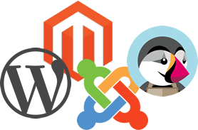 hosting para Wordpress, Magento, Joomla, Prestashop, ...
